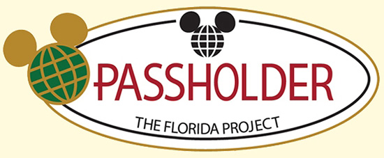 The Florida Project Limited-Edition Passholder Pin