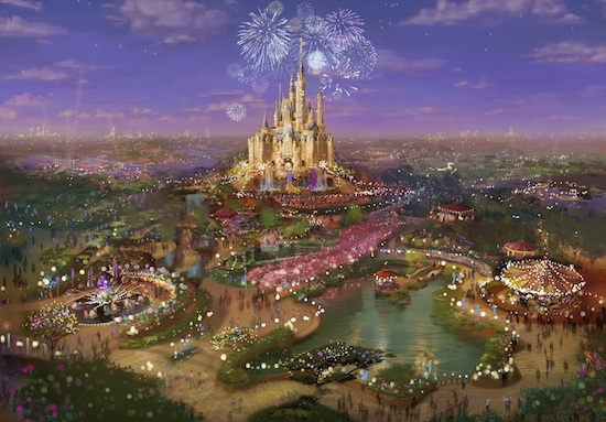 Breaking Ground on Shanghai Disney Resort