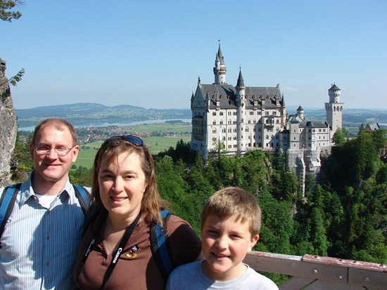 Adventures by Disney Moms Panelist Jill Cooper and Family in Germany