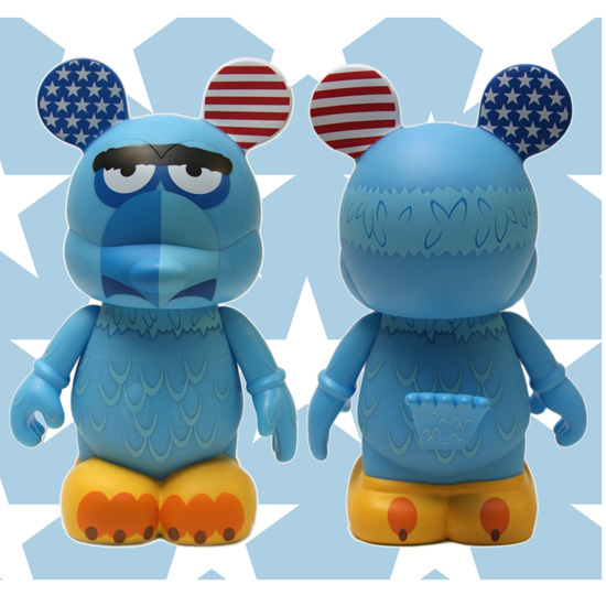 Nine-inch Sam the Eagle Vinylmation Figure