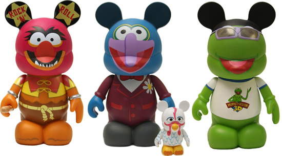 Nine-inch Muppet Series 2 Vinylmation Figures