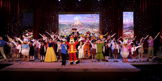 Shanghai Disney Resort Groundbreaking Ceremony Marks Historic Day