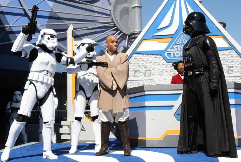 Star Tours Opening Ceremony at Disneyland Park