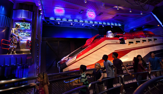 Star Tours at Disneyland Park