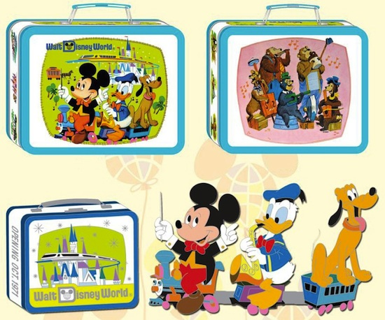 Disney Lunchbox and Pins