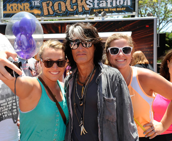 Aerosmith Guitarist Joe Perry with Guests, Holley Whitehead and Morgan McGaugn