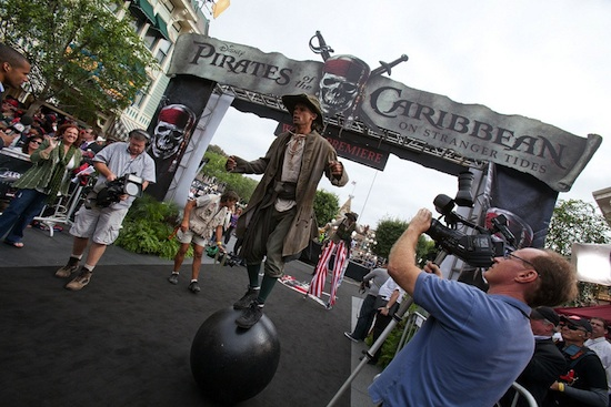 'Pirates of the Caribbean: On Stranger Tides' Premiere at Disneyland Resort