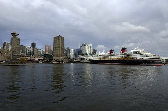 Disney Wonder Sets Sail for First-Ever Alaskan Voyage Today