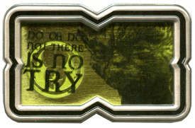 Yoda 'Star Wars' Quote Pin