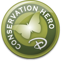 Gowalla Conservation Hero Stamp
