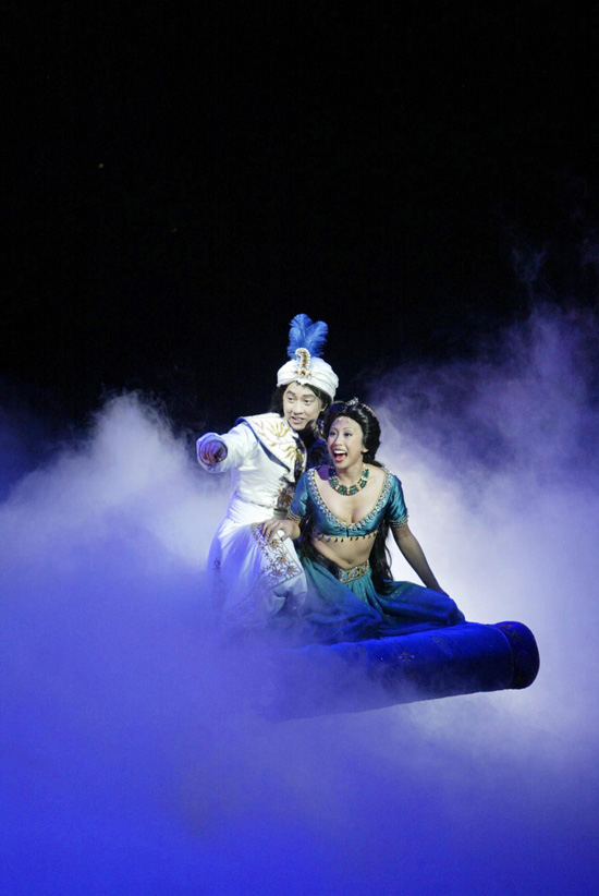 'Disneys Aladdin  A Musical Spectacular' on the Disney Fantasy