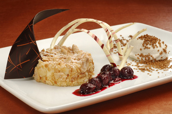 Narcoossee's Almond Cheesecake