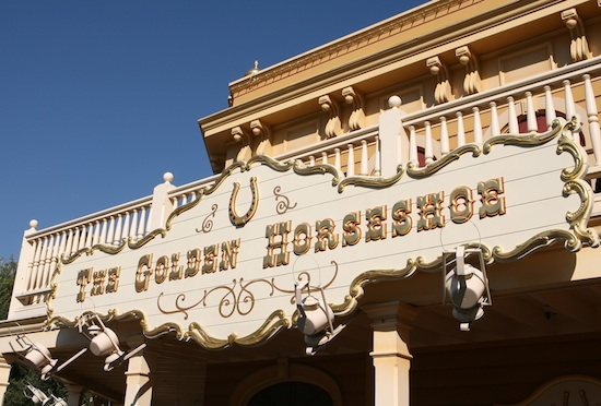 The Golden Horseshoe, Disneyland Park, 2011