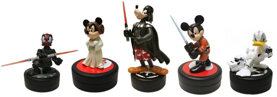 Medium-Sized Star Wars Weekends Figurines