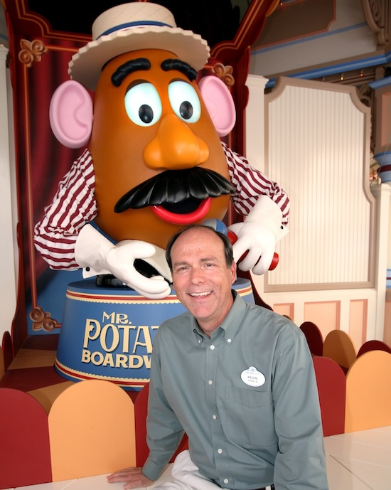 Peek Inside the Life of a Walt Disney Imagineer: California's Kevin Rafferty<br /> © 2011 Disney/Pixar<br /> Mr. Potato Head® © Hasbro, Inc. All rights reserved