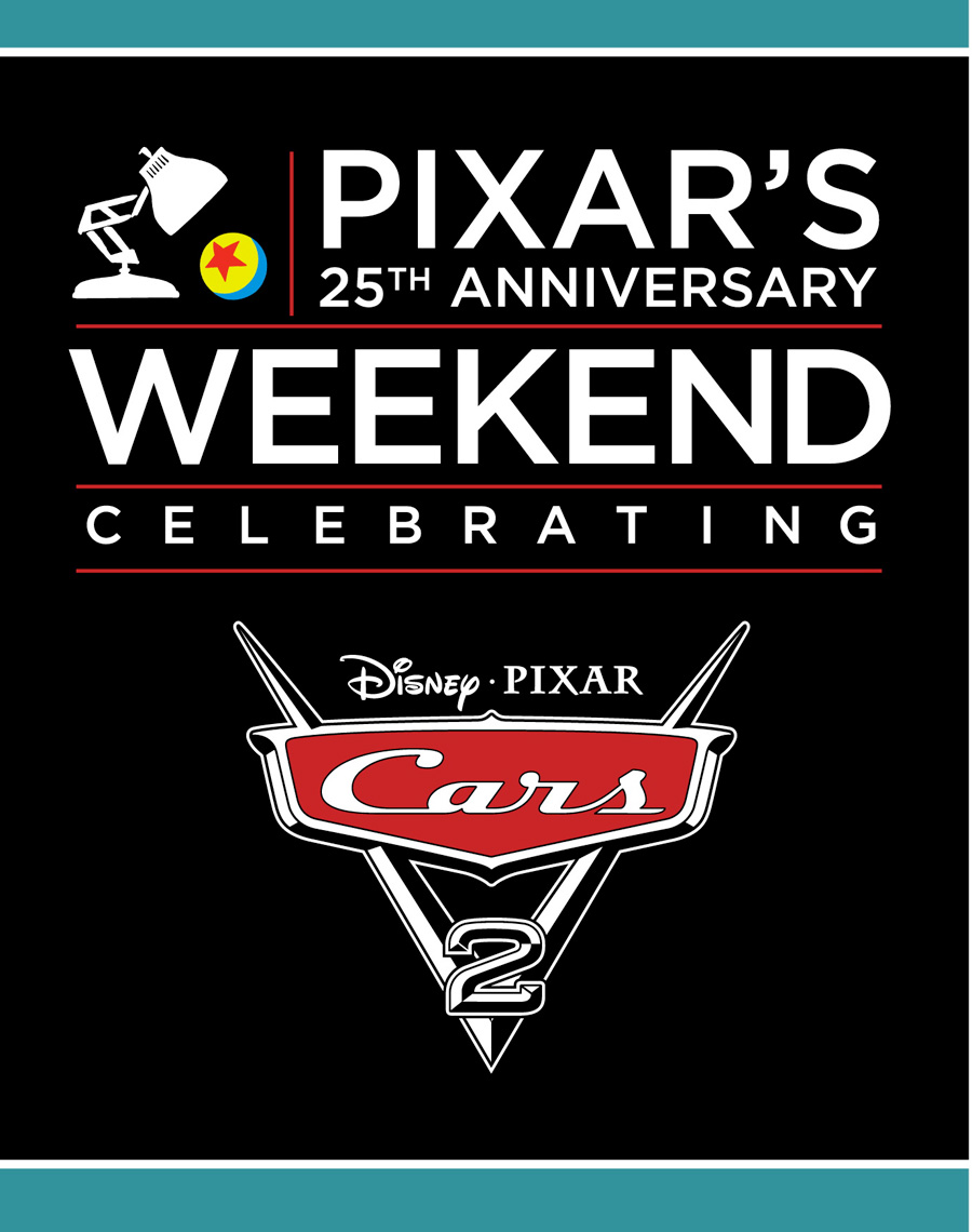 Pixar's 25th Anniversary Weekend May 13-15 at Epcot
