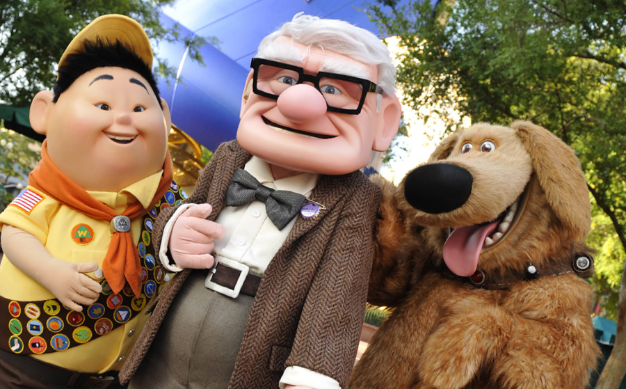 Characters from Disney•Pixar's 'Up'