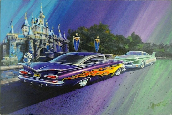 Flo and Ramone of Disney's 'Cars'