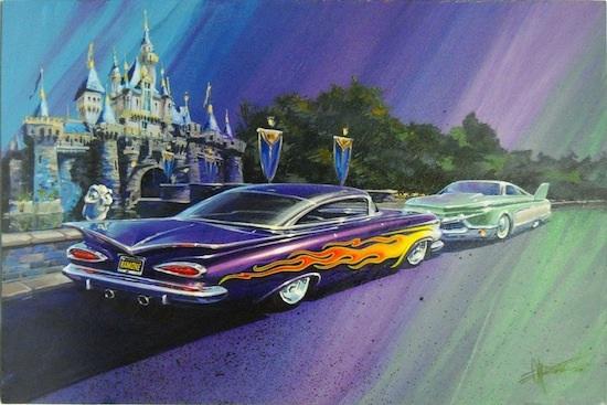 Flo and Ramone of Disney's 'Cars'