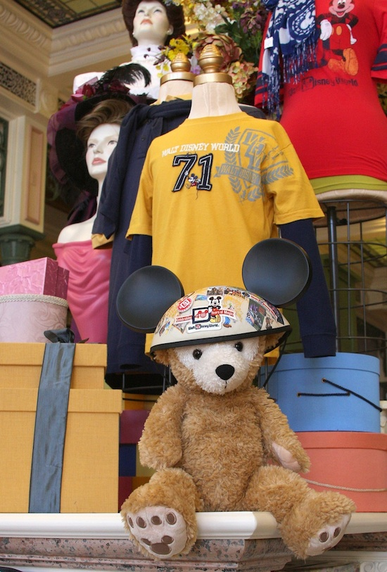 Duffy Wearing the Walt Disney World 40th Anniversary Ear Hat