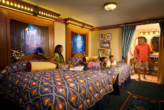 Royal Guest Room at Disneys Port Orleans Resort  Riverside