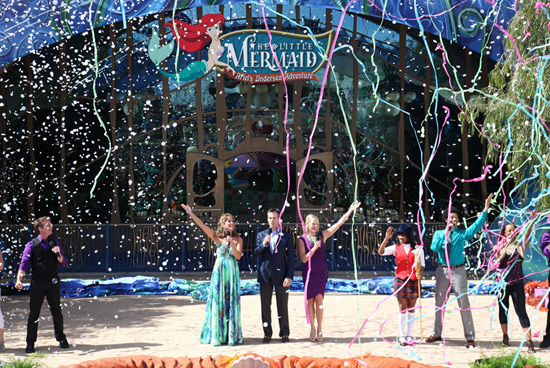 The Little Mermaid - Ariel's Undersea Adventure Opens at Disney California Adventure Park