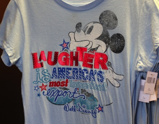 'Laughter is America's Most Important Export' Tee-Shirt