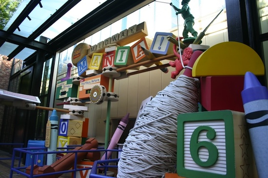 Toy Story Mania! Entrance at Disney's Hollywood Studios
