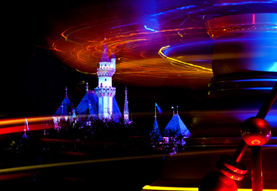 Things That Spin in the Night – A Different Perspective at Disneyland Park