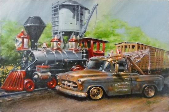 Mater of Disney's 'Cars'
