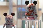 The two 'Very Important Vinylmations are now on display at D-Street in Downtown Disney West Side for Guests to see.