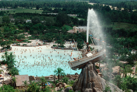109,000-square-foot Surf Pool at Disney's Typhoon Lagoon