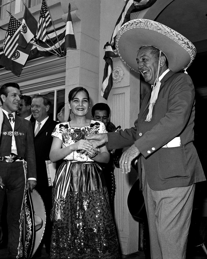 Walt Disney Celebrates Mexico at Disneyland Park in 1963