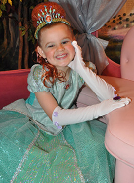 Little Mermaid Transformation at Bibbidi Bobbidi Boutique