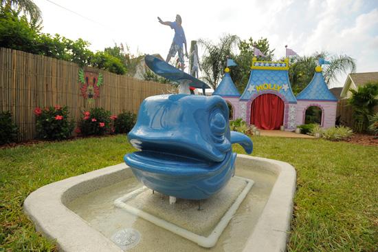 The Farrell Family Receives a Disney Dream-Inspired Backyard Makeover