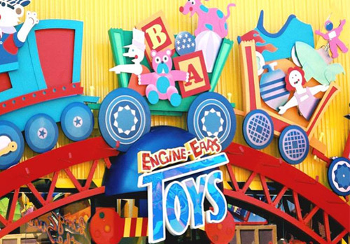Engine-Ears Toys at Disney California Adventure Park