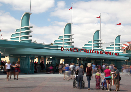 New Turnstiles Open at Disney California Adventure Park Today