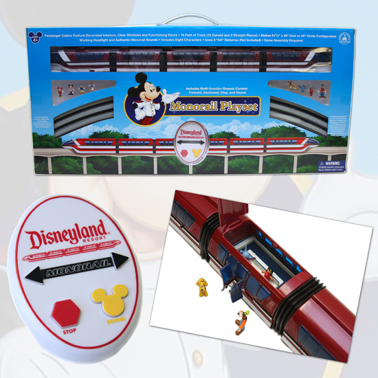 Disneyland Resort Monorail Toy
