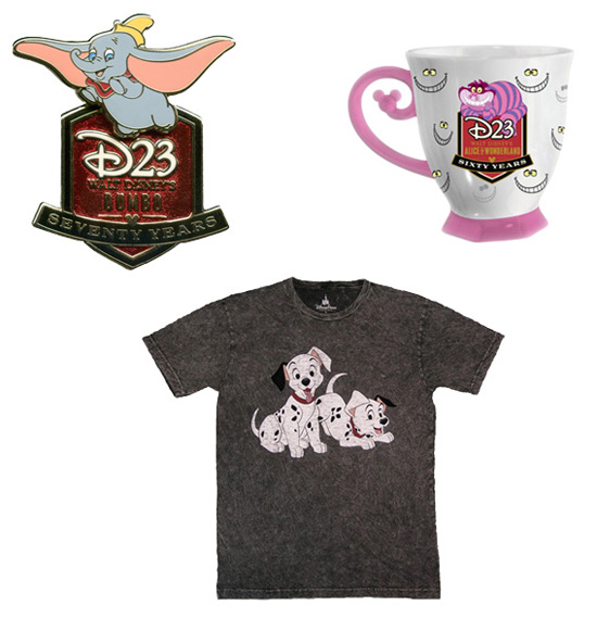 D23 Merchandise at Disneyland Resort