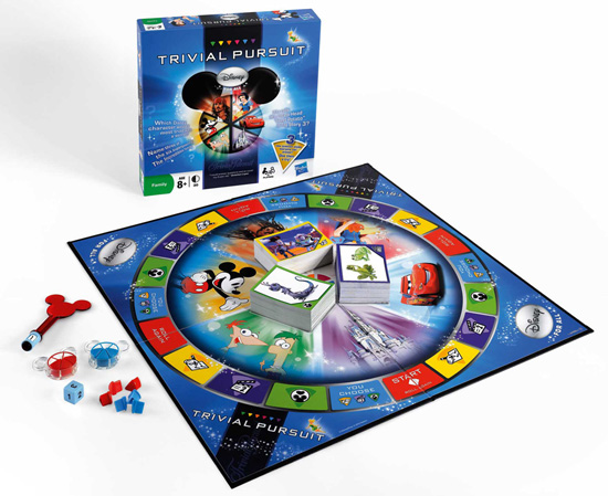 Disney Parks Trivial Pursuit Game