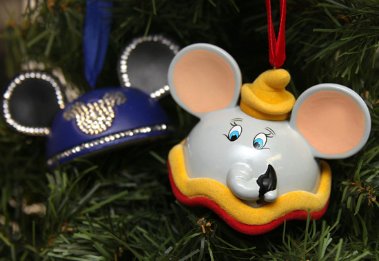 Dumbo Ear Hat Ornament from Disney Parks Merchandise
