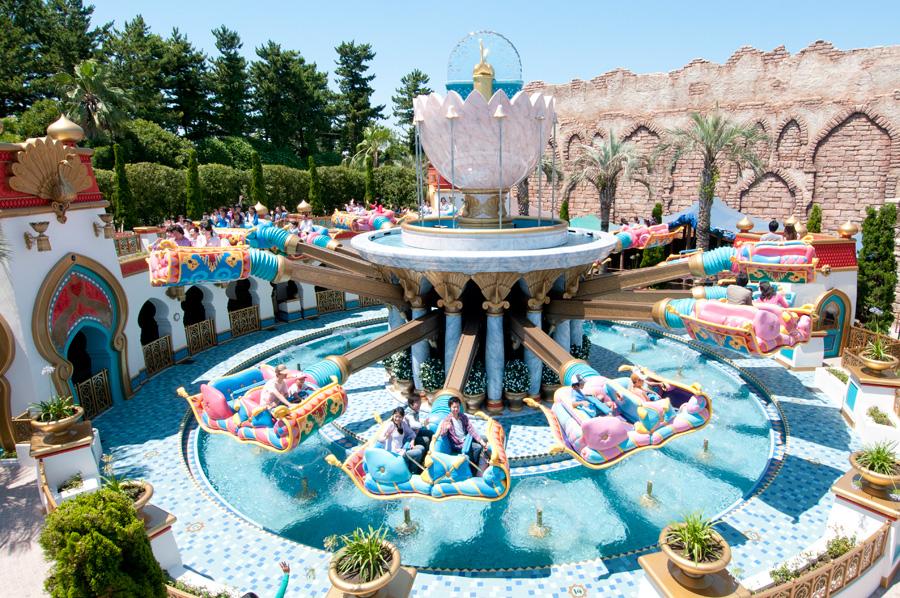 Tokyo Disneysea Jasmine S Flying Carpets 18 Juillet