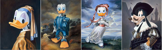 Renaissance-inspired Disney Character Portraits by Former Walt Disney Imagineer Maggie Parr