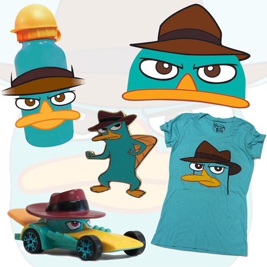 'Phineas and Ferb' Merchandise Coming to Disney Parks