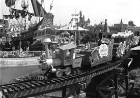 Casey Jr. Circus Train, 1955