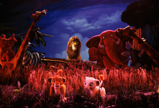 Legend of the Lion King at Magic Kingdom Park