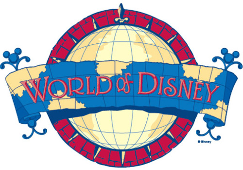 World of Disney at Walt Disney World and Disneyland Resorts