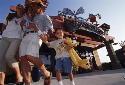 World of Disney at Walt Disney World and Disneyland Resorts