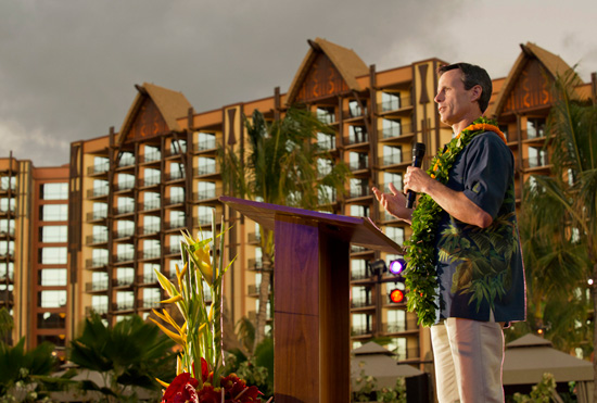 Tom Staggs at Aulani, a Disney Resort &#038; Spa