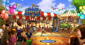 Storybook Circus will be the new home to Dumbo the Flying Elephant, which will double in size and feature an interactive queue.
